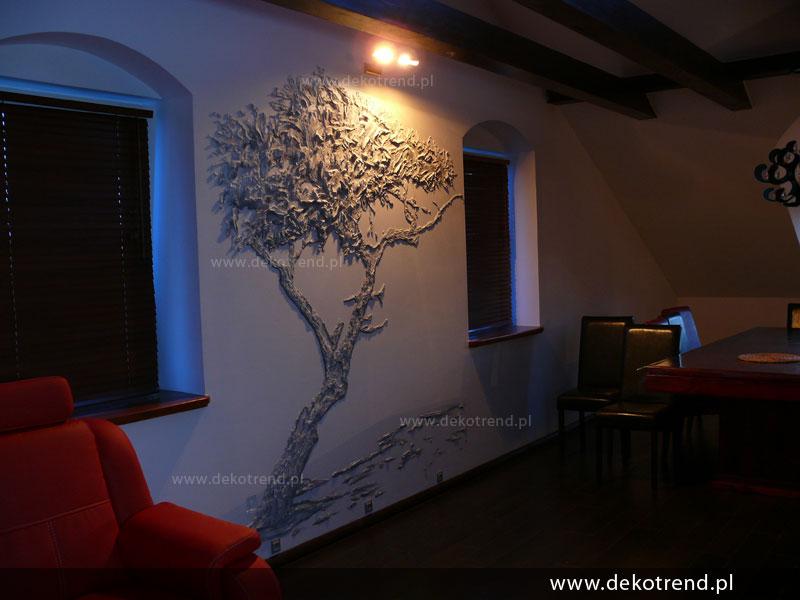 Tynk Dekoracyjny Artystyczne Malowanie ścian Płaskorzeźba